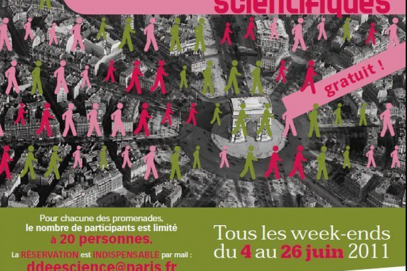 promenades scientifiques, sciences sur seine, paris