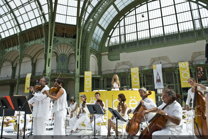 Lolë White Tour au Grand Palais à Paris