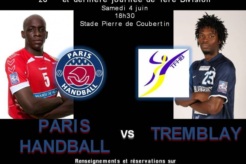 Handball, Paris, Tremblay, Championnat de France