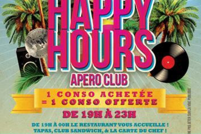 Happy Hour Apéro-Club