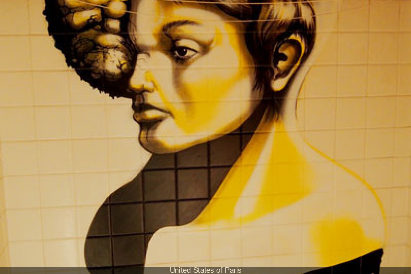 Woman by Senso wall-street-art-graffiti-Tour-Paris-13-Galerie-Itinerrance-Gallery-project