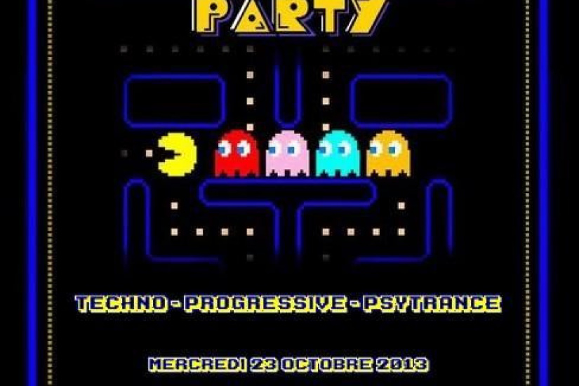 PACMAN PARTY #20 aztechno rencontre nataraja