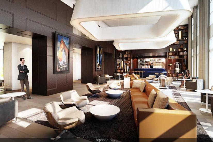 h tel renaissance paris hippodrome de st cloud les premi res images. Black Bedroom Furniture Sets. Home Design Ideas