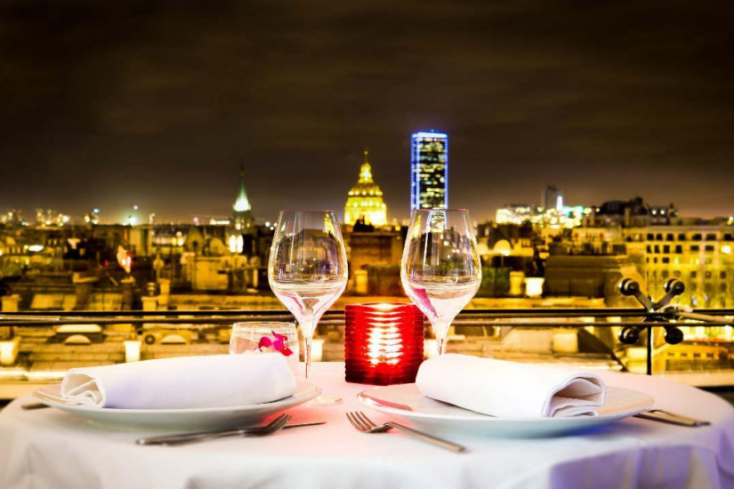 New years eve dinner 2018 at paris maison blanche