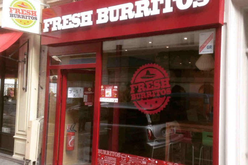 Fresh Burritos ouvre son 1er restaurant à Paris
