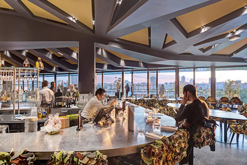 restaurant panoramique paris