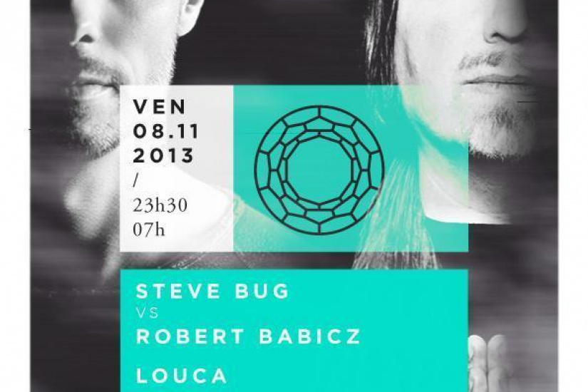 Steve Bug, Robert Babicz & Louca @ Showcase Paris