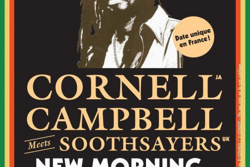 CORNELL CAMPBELL MEETS SOOTHSAYERS LE 30/11/2013 AU NEW MORNING !