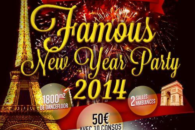 FAMOUS NEW YEAR PARTY 2014