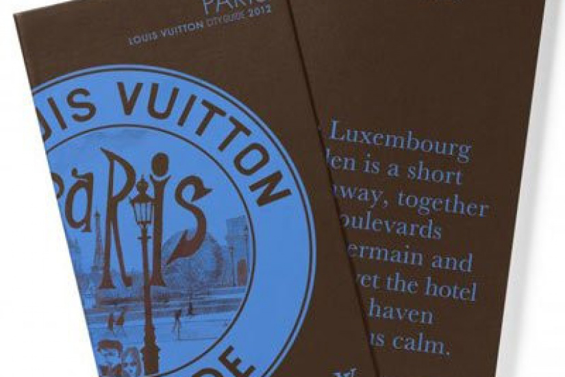 city guide louis vuitton paris 2012 le livre de la semaine. Black Bedroom Furniture Sets. Home Design Ideas
