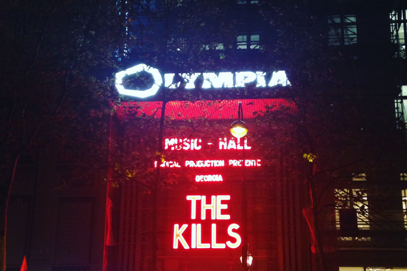 The Kills en concert à l'Olympia : live report