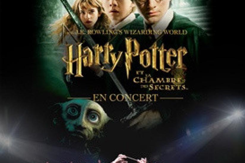Harry Potter Et La Chambre Des Secrets En Ciné Concert Au Palais Des Congrès