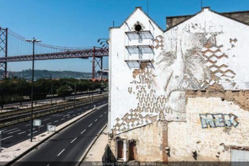 NUIT BLANCHE 2014 - Scathching the surface, de Vhils