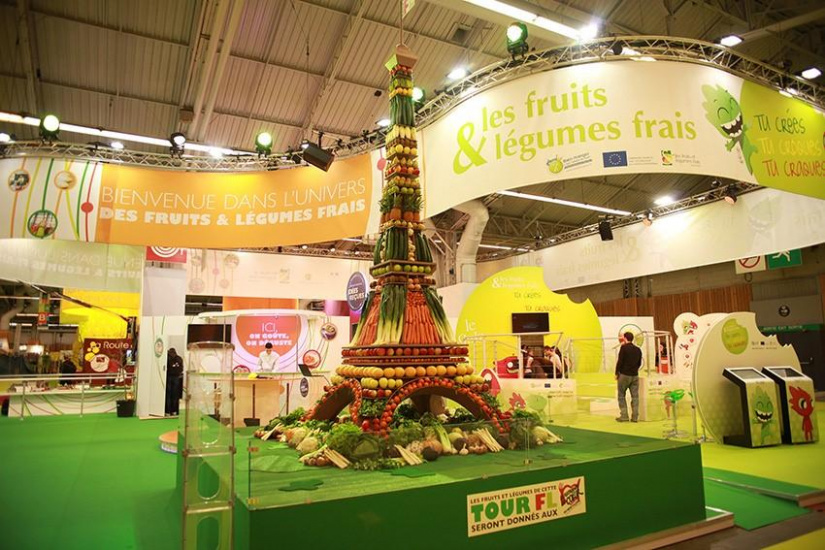L 39 univers des fruits et l gumes frais au salon de l for Agriculture salon