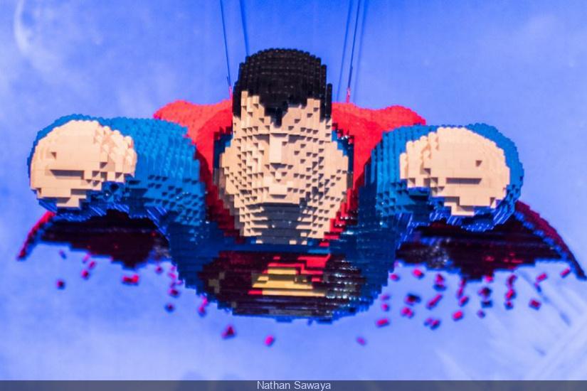 Les Super-héros en LEGO®, la belle expo de Nathan Sawaya à la Villette