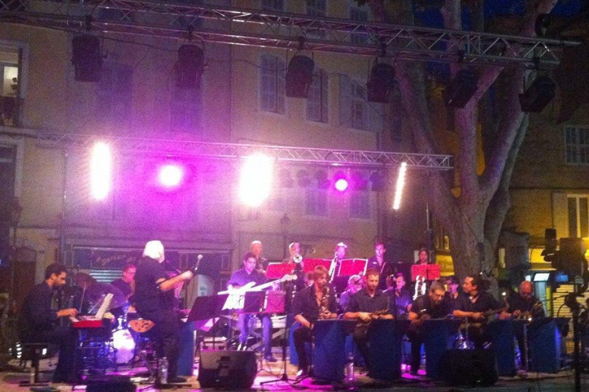 Pernoud Jazz Big Works en concert