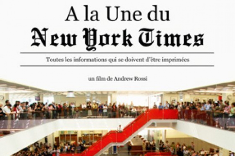 A la une du New York Times