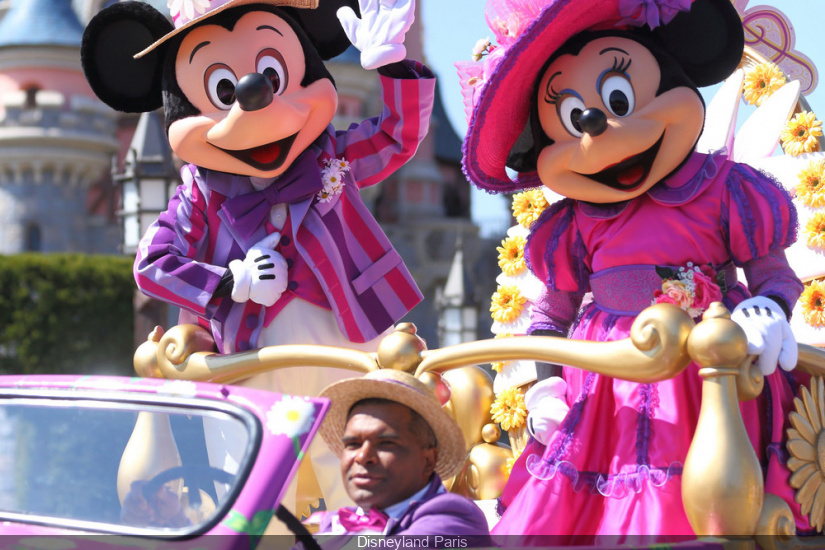 Disneyland Paris et sa Flower Power pour le Printemps