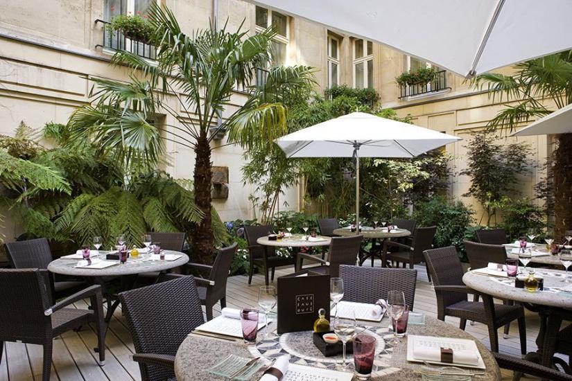 Les nouvelles terrasses du sofitel paris le faubourg - Restaurant terrasse ou jardin paris limoges ...