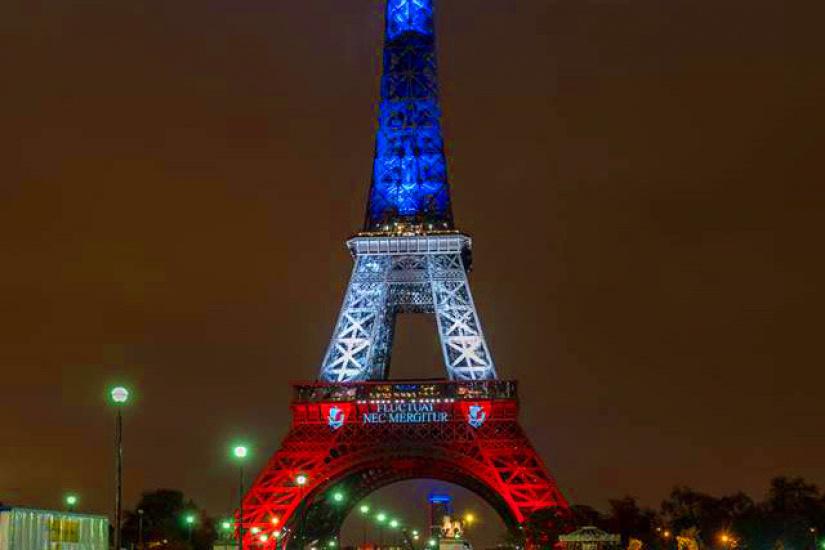 La tour eiffel tricolore aux couleurs du drapeau fran ais - Tour eiffel photos gratuites ...