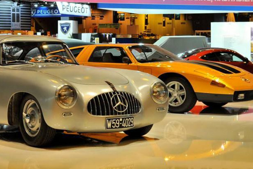 Salon retromobile 2018 at paris porte de versailles for Porte de versailles paris