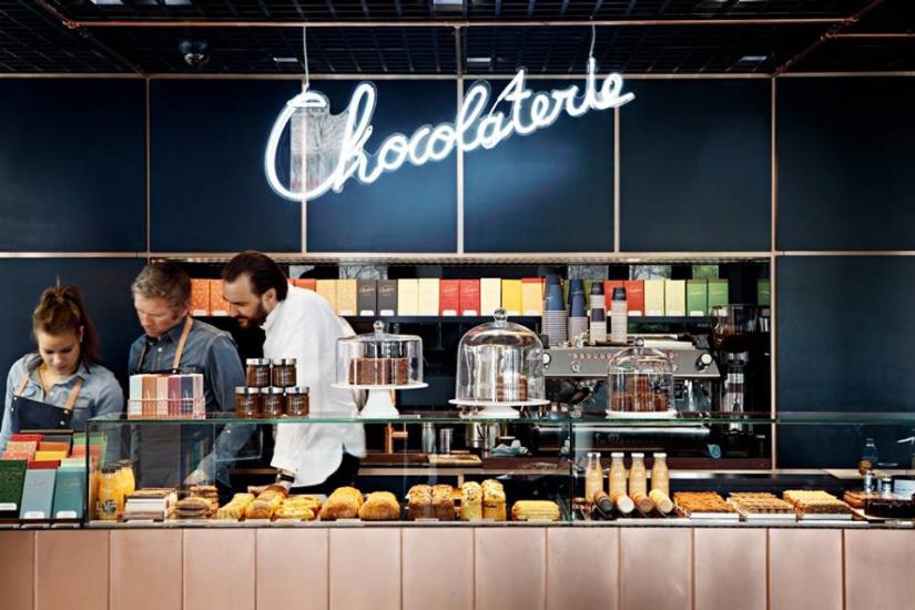 La Chocolaterie By Cyril Lignac Et Benoit Couvrand à Paris - Cours de cuisine paris cyril lignac