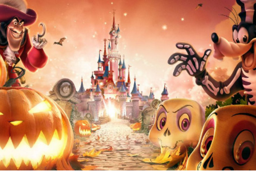 Disney's Halloween Party 2017 and the Skeletoons Party ...