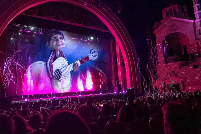 Coco en avant premi re et la f erie des eaux au grand rex for Salon pixar paris