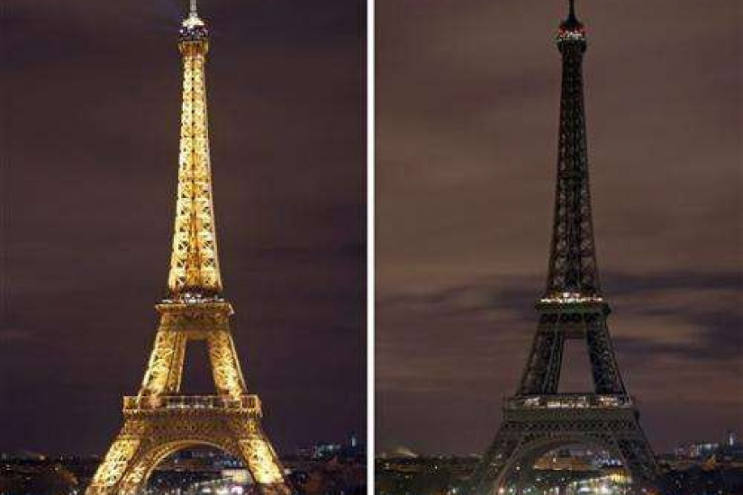 Image result for earth hour 2018 eiffel