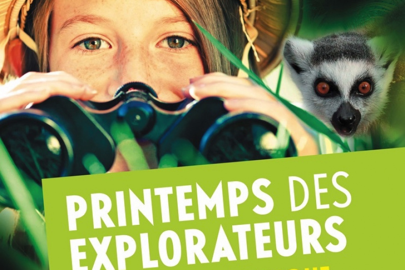 Le Printemps des Explorateurs au Parc Zoologique de Paris