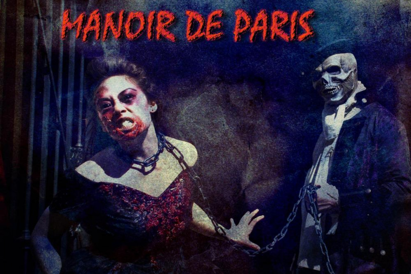 halloween au Manoir de Paris