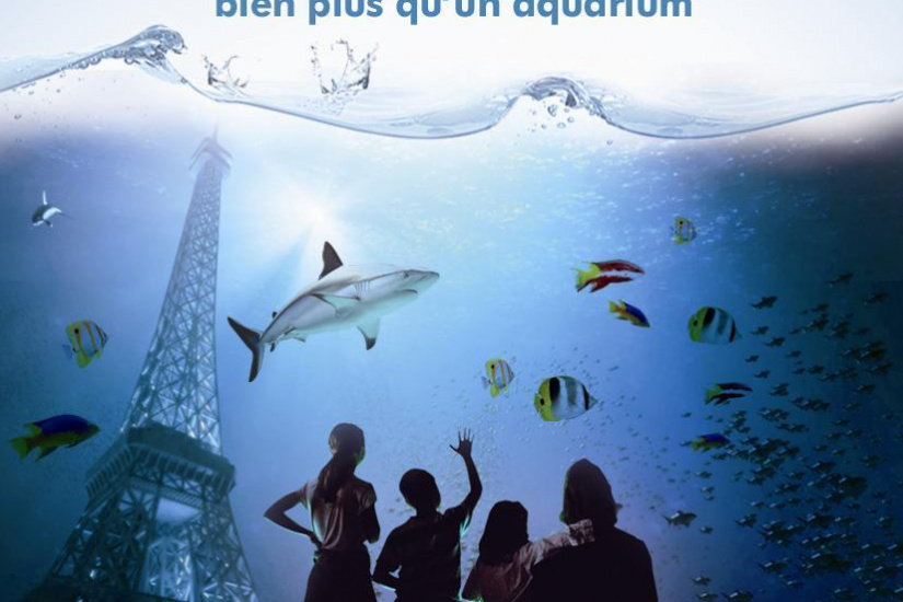 saint valentin au cineaqua, saint valentin aquarium de paris