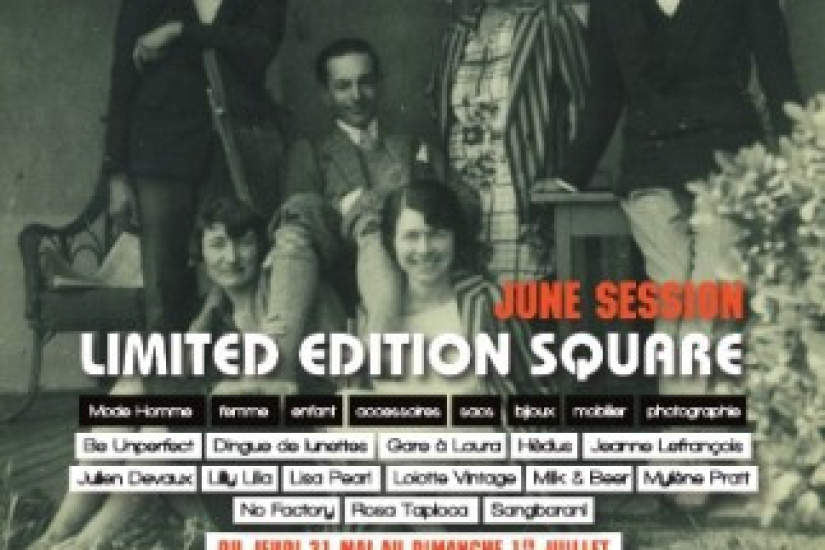 Limited Edition Square, June Session à la Galerie Absoluty