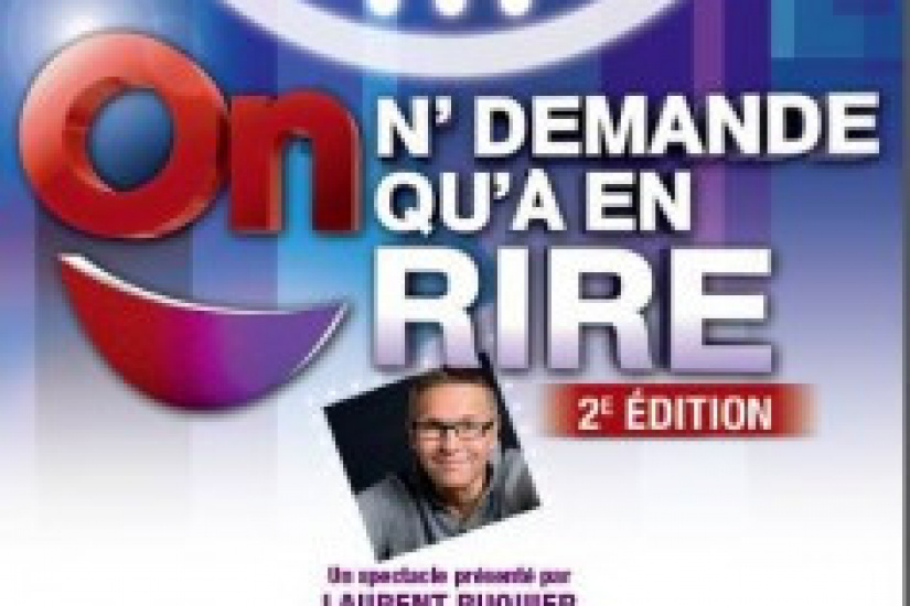 On n'demande qu'à en rire, le spectacle 2013 au Casino de Paris