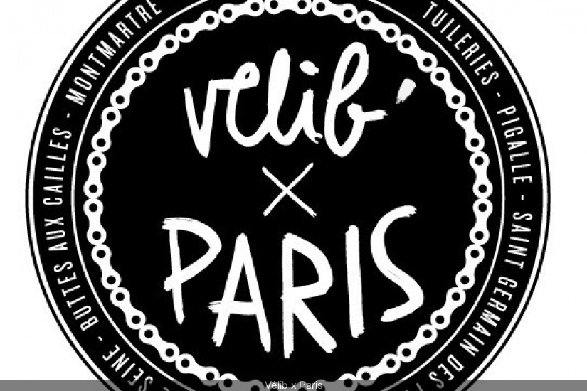 Vélib x Paris grand palais