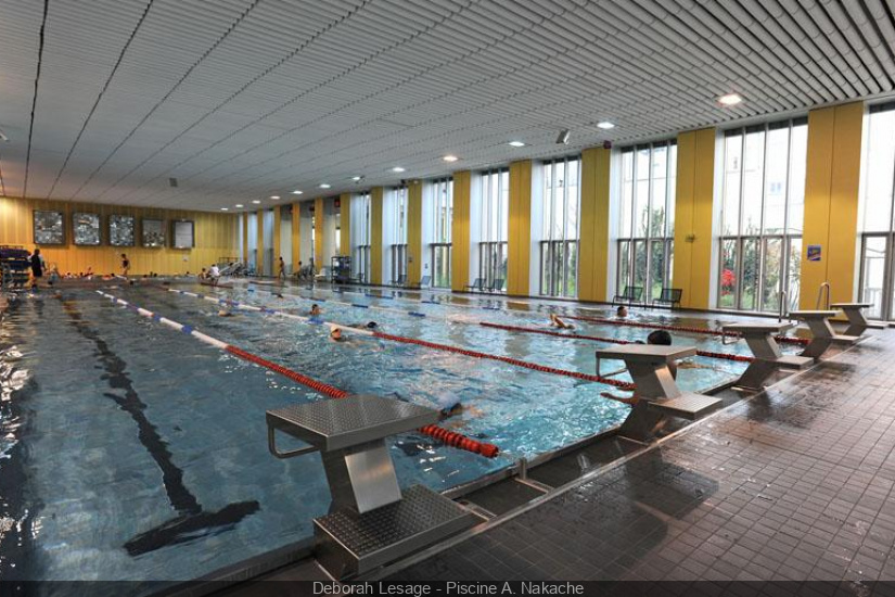 Les piscines parisiennes 20 me arrondissement - Piscines de paris horaires ...