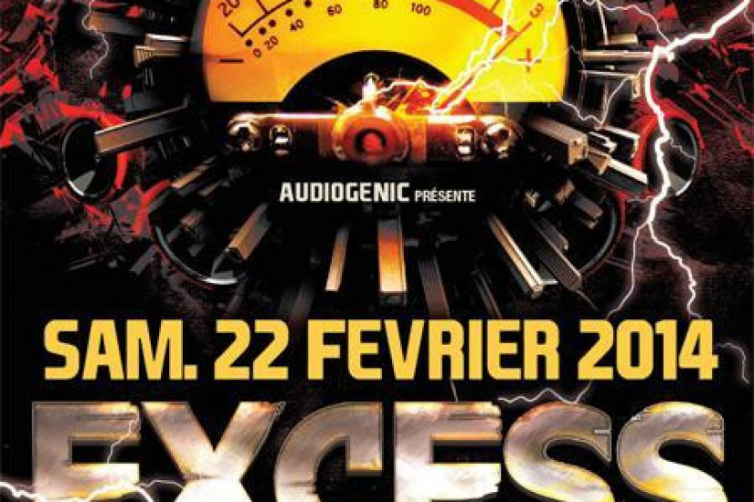 22/02 EXCESS OVERDRIVE Paris – Micropoint, Radium, Endymion