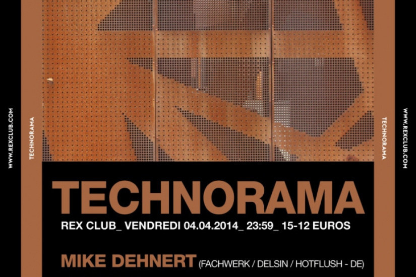 Technorama au Rex Club avec Mike Dehnert