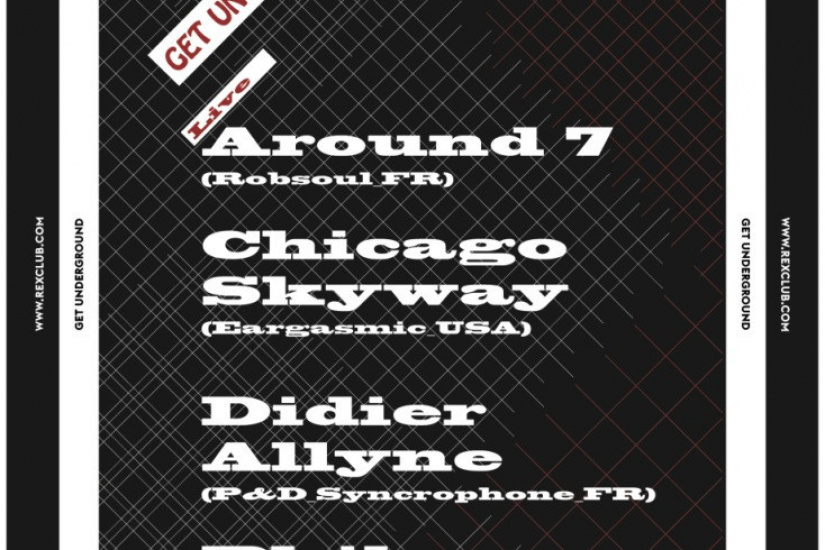 Get Underground au Rex Club avec Chicago Skyway