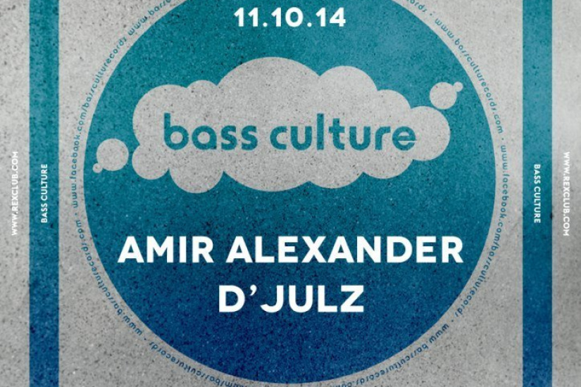 Bass Culture au Rex Club avec Amir Alexander