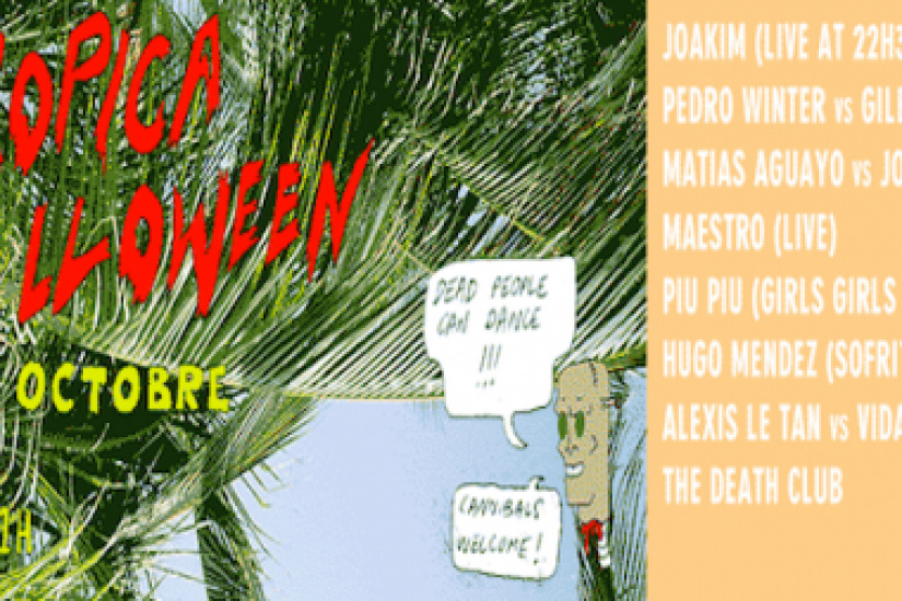 Tropicalloween 2014 au Nouveau Casino