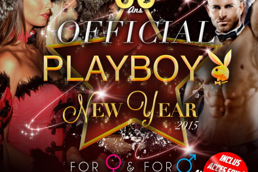 Réveillon du nouvel an 2015 : Playboy Official New Year sur l'île du Chalet de la Porte Jaune