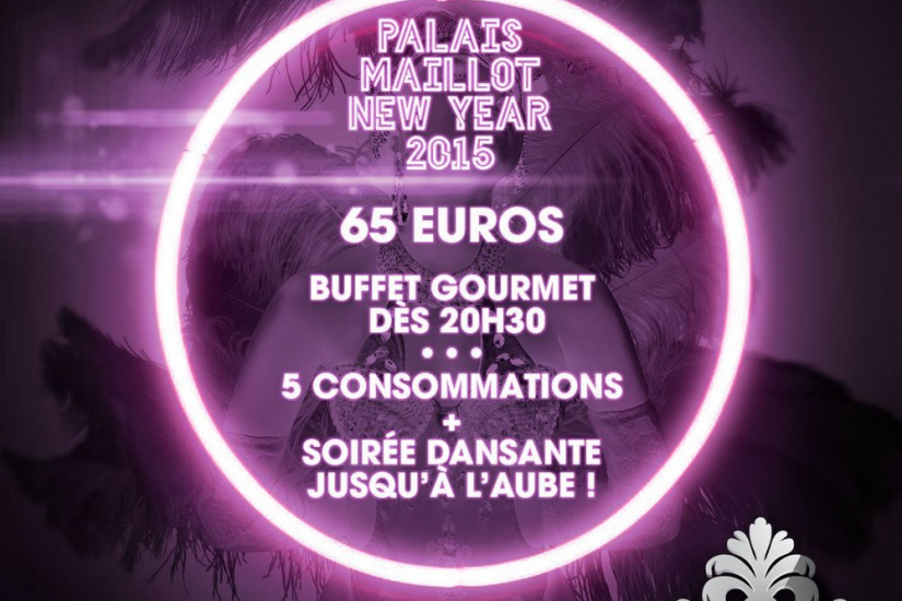Réveillon du nouvel an 2015 : Wonderful New Year 2015 au Palais Maillot