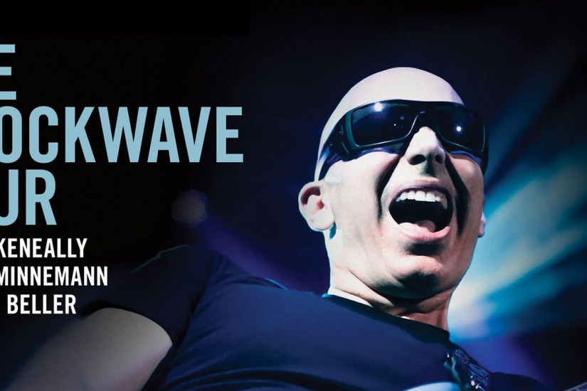 Joe Satriani en concert au Grand Rex de Paris en septembre 2015
