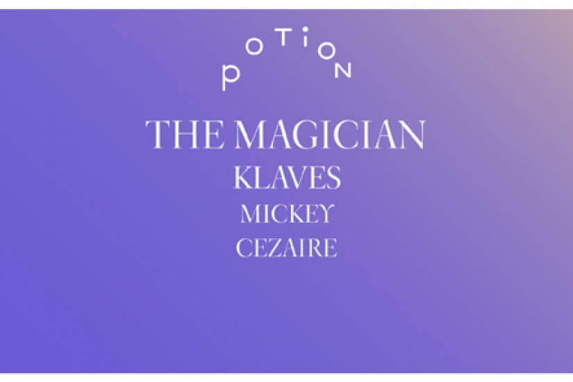 Potion au Showcase avec The Magician