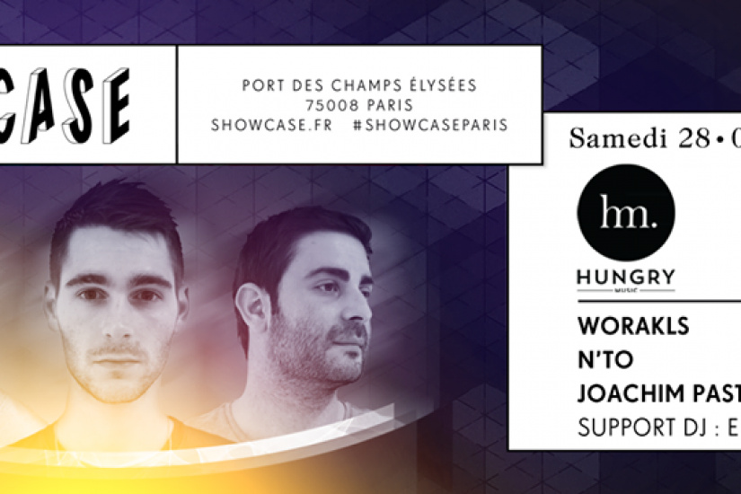 Hungry Party au Showcase avec Joachim Pastor