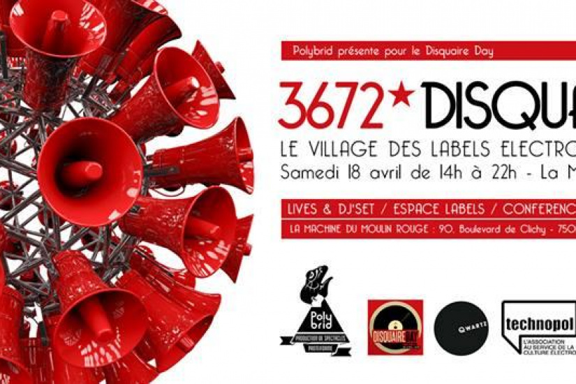 Disquaire Day 2015 : Village des Labels indépendants à La Machine du Moulin Rouge