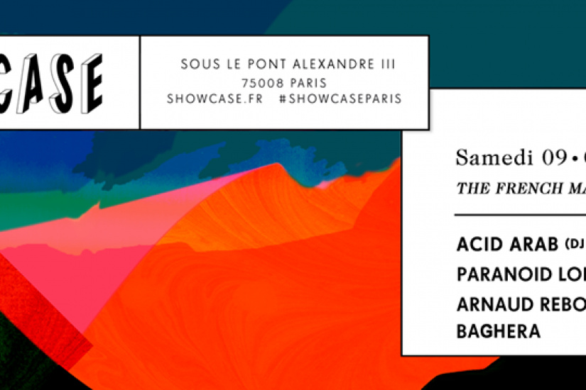 The French Machine au Showcase avec Acid Arab
