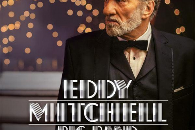 Eddy Mitchell Big Band en concerts au Palais des Sports de Paris en 2016