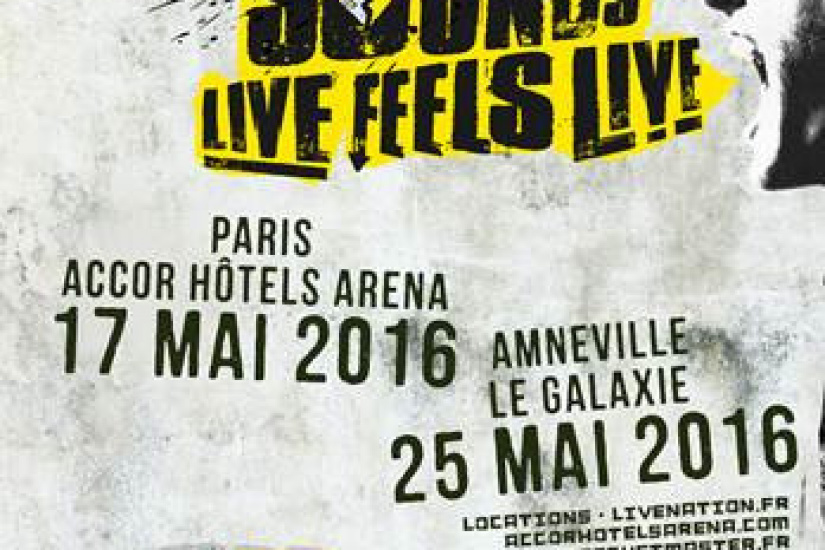 5 Seconds of Summer en concert à l'AccorHotels Arena de Paris en 2016